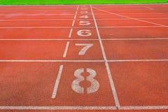 Athlète Track ou voie courante photographie stock libre de droits