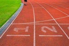 Athlète Track ou voie courante images libres de droits