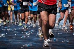 Athlètes de marathon Photographie stock libre de droits