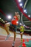 Athlétisme contactant 2010 Images libres de droits