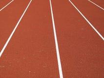 Athlétisme de tartan de piste Photo libre de droits