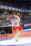 Athlétisme - hommes mis par tir, BUKOWIECKI Konrad image stock