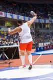Athlétisme - hommes mis par tir, BUKOWIECKI Konrad images libres de droits