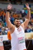 Athlétisme - hommes mis par tir, BUKOWIECKI Konrad image libre de droits