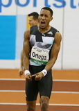 Athlétisme, Orlando Ortega du Cuba Images stock