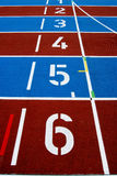 Athlelic track Royalty Free Stock Photo