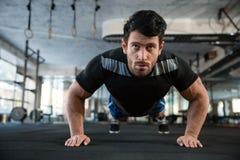 Athlet на тренировке стоковые фото