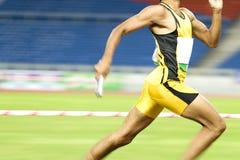Athlet in der Tätigkeit Lizenzfreie Stockbilder