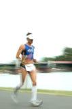 Athlet in Frankfurt Ironman 2008 Stockfotografie