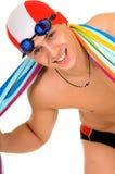 Athlet, Schwimmer Lizenzfreies Stockbild