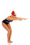 Athlet, weiblicher Schwimmer Stockbilder
