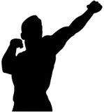 Athlete bodybuilder Royalty Free Stock Images