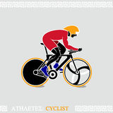 Athlete Cyclist Royalty Free Stock Image