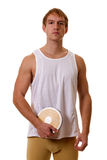 Athlete With Discus Stock Photos