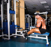 Athlete handsome bodybuilder Stock Image
