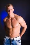 Athlete man Stock Photos