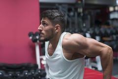 Athlete man Stock Photography
