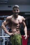Athlete man Royalty Free Stock Image