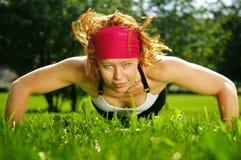 Athlete Outdoor Stock Image