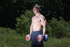 Athlete outdoor Stock Images