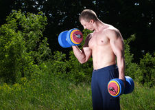 Athlete outdoor Stock Photography