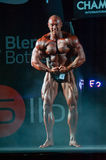 Athlete participates in Bodybuilding Champions Cup Royalty Free Stock Photography