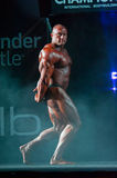Athlete participates in Bodybuilding Champions Cup Royalty Free Stock Image