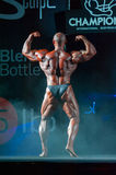 Athlete participates in Bodybuilding Champions Cup Royalty Free Stock Photo