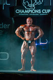 Athlete participates in Bodybuilding Champions Cup Stock Photos