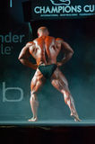 Athlete participates in Bodybuilding Champions Cup Royalty Free Stock Photos