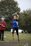 Athlete Pia Brinkert - thrower - Stock Photos