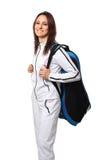 Athlete portrait stock photography