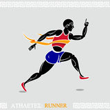 Athlete Runner Stock Photo