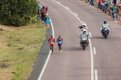 Athlete Runners Comrades Marathon 2014 Stock Images