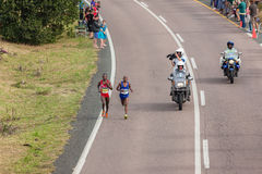 Athlete Runners Comrades Marathon 2014 Royalty Free Stock Images