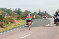 Athlete Runners Comrades Marathon 2014 Stock Photos