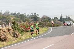 Athlete Runners Comrades Marathon 2014 Royalty Free Stock Image