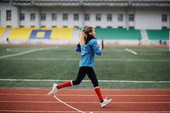 Athlete running Royalty Free Stock Photo