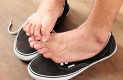 ATHLETE'S FOOT Royalty Free Stock Photo