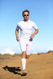 Athlete sports fitness runner running Stock Photo