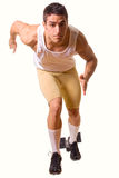 Athlete Sprinting Stock Images