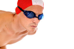 Athlete, swimmer Royalty Free Stock Image