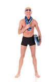 Athlete, swimmer Stock Images