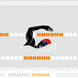 Athlete Swimmer Stock Photos