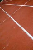 Athlete track Stock Image