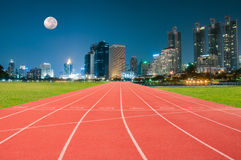 Athlete Track or Running Track Royalty Free Stock Photos