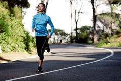 Athlete training Royalty Free Stock Image
