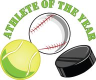 Athlete Of The Year Royalty Free Stock Photography