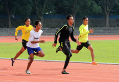 athleten lizenzfreies stockfoto