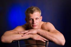 Athletenmann lizenzfreie stockfotos